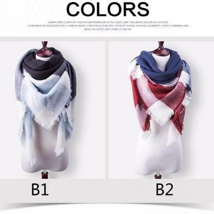 New Fashion Brand Winter Scarf For ..