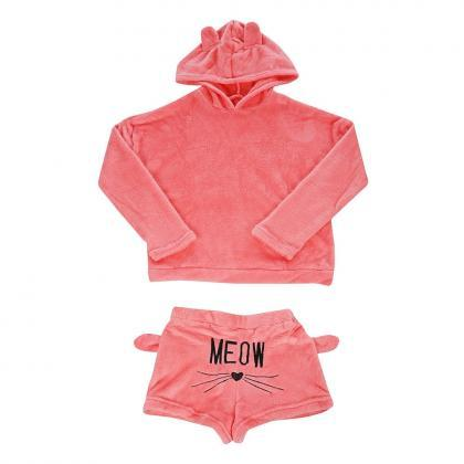 Winter Pajamas Warm Sleepwear Cute ..