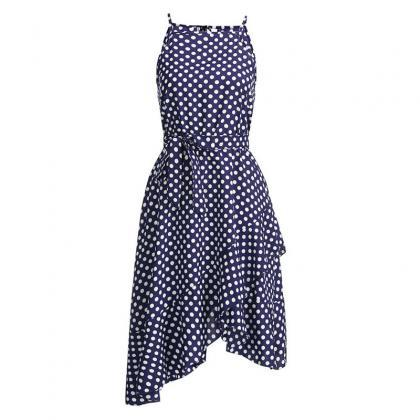 Polka Summer Boho Long Evening Part..