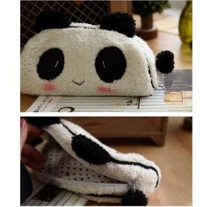 Panda Soft Plush Fancy Pencil Case ..
