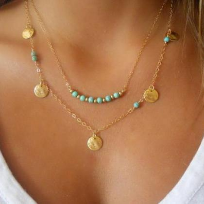 New Fashion Jewelry Womens Turquois..