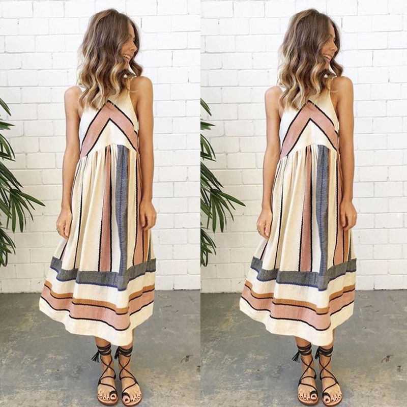 Sexy Summer Dress Boho Maxi Long Evening Party Dress Beach Dress Sundress