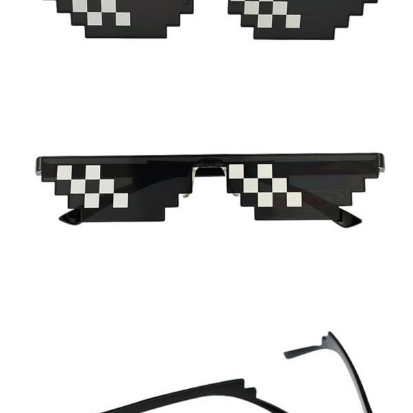 Glasses 8 Bit MLG Pixelated Sunglasse